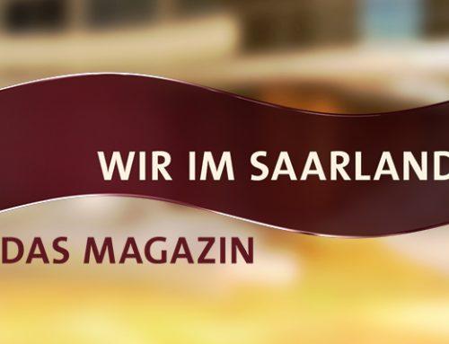 Mettlach am 12. Oktober im SR-Fernsehen