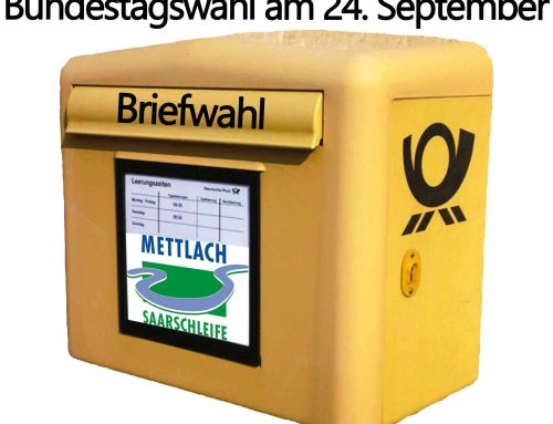 Briefwahlantrag zur Bundestagswahl am 24. September 2017
