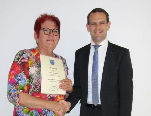Henriette Messer bleibt Behindertenbeauftragte