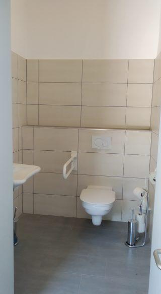 Toilette im Bürgerhaus Bethingen