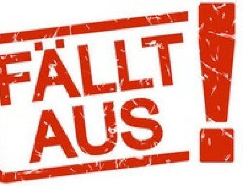 abgesagte Veranstaltungen in der Gemeinde Mettlach