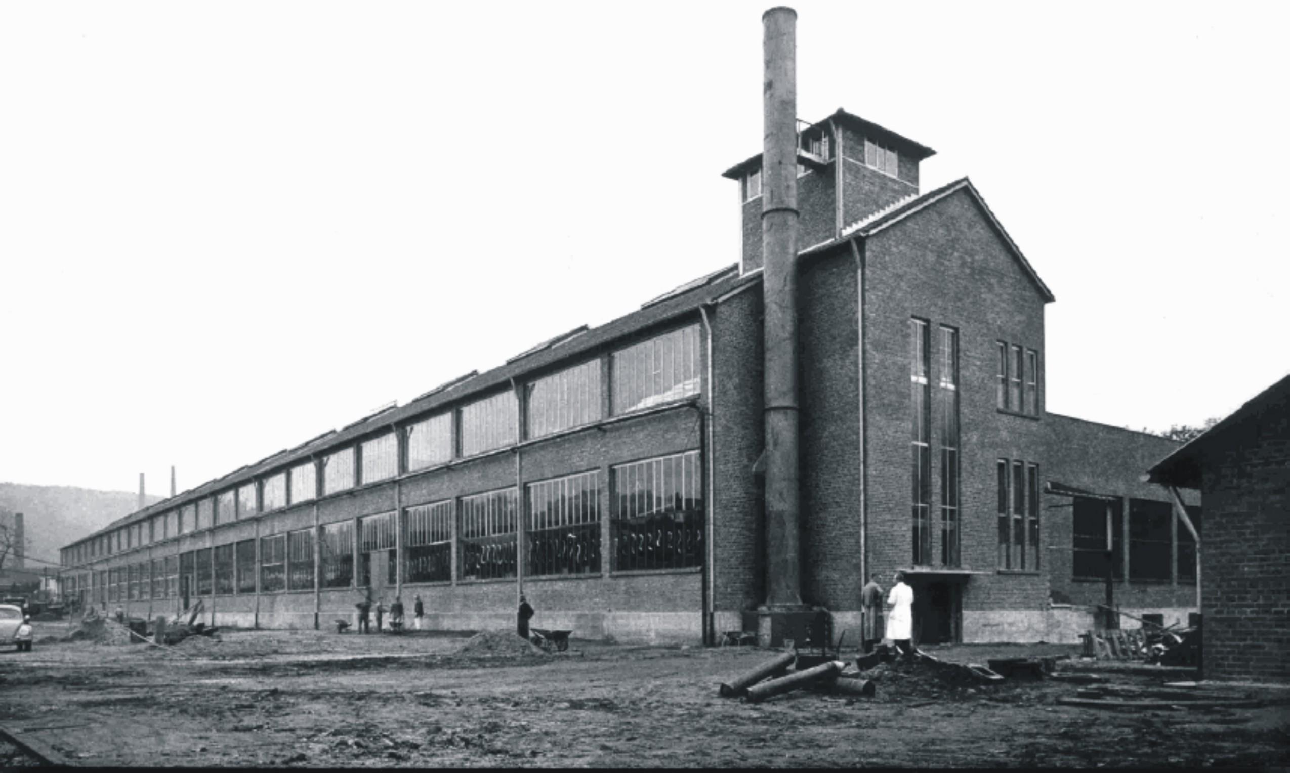 Gebäude 115 aus dem Jahre 1954 (Quelle Villeroy & Boch AG)