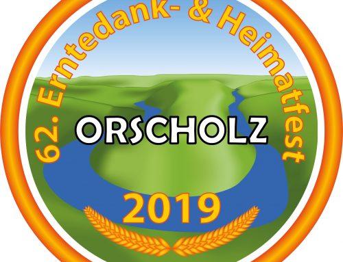 Straßensperrungen für Festumzug in Orscholz am 15.09.2019