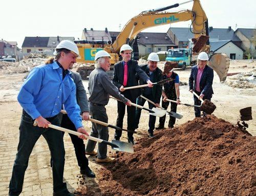 Startschuss zum Neubau des REWE Marktes Orscholz
