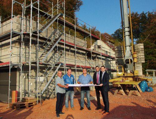 Richtfest für neues Wasserwerk in Bethingen
