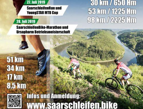 Beeinträchtigungen für Straßenverkehr und Wanderer beim Saarschleifen Bike+Run-Marathon 2019