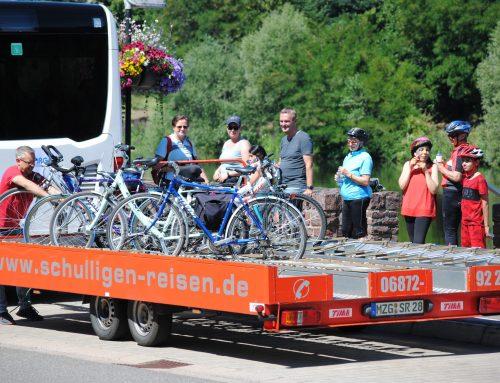 Saarschleifenbus für Radfahrer und Wanderer