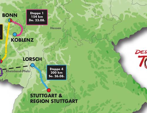 Deutschland Tour führt am 25. August 2018 durch unser Gemeindegebiet
