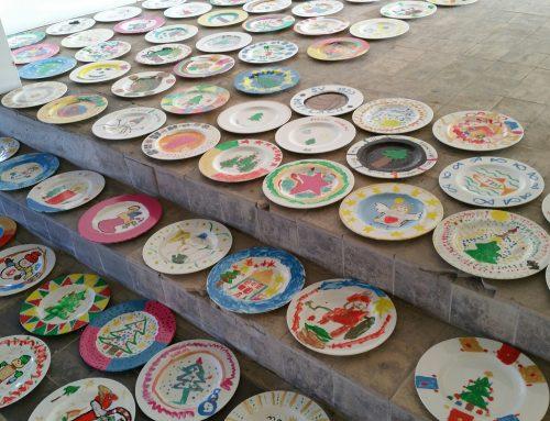 Tellermalaktion für den keramischen Weihnachtsbaum 2018