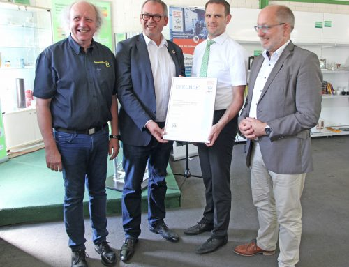 Kommunales Rückkonsumzentrum Mettlach erhält RAL-Gütezeichen