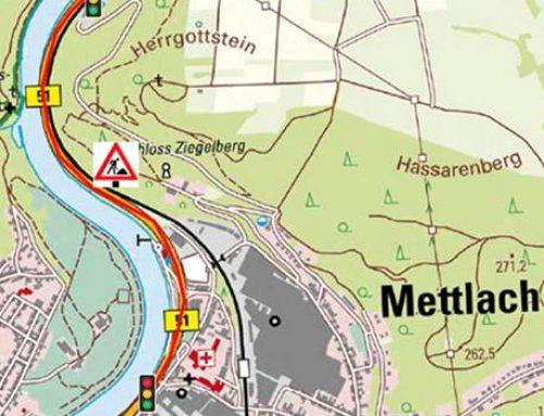 Erneuerung der B 51 zwischen Mettlach und Saarhölzbach