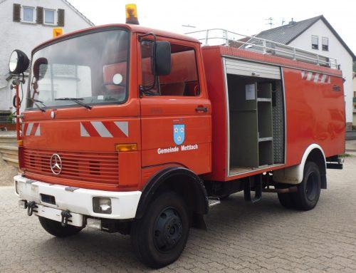 Gemeinde verkauft Bauwagen und Tanklöschfahrzeug